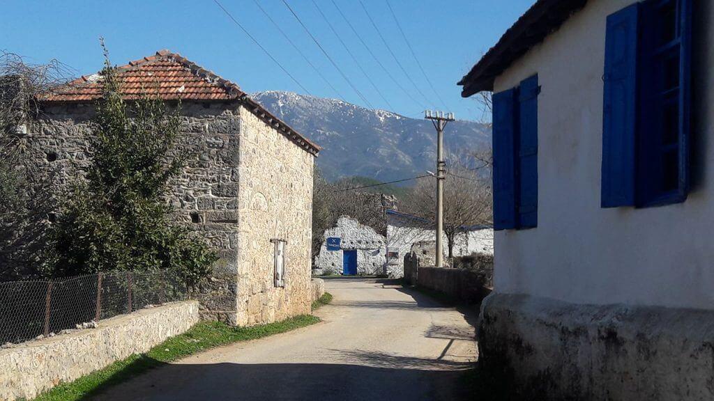Greek Turkish village in Fethiye