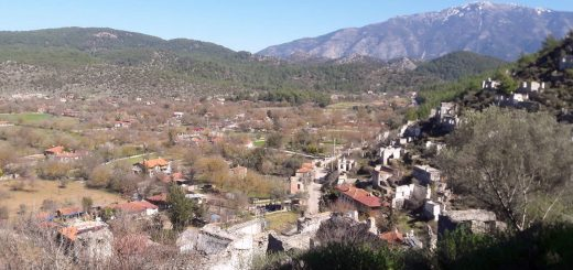 Village near Kayakoy Fethiye, Turkey