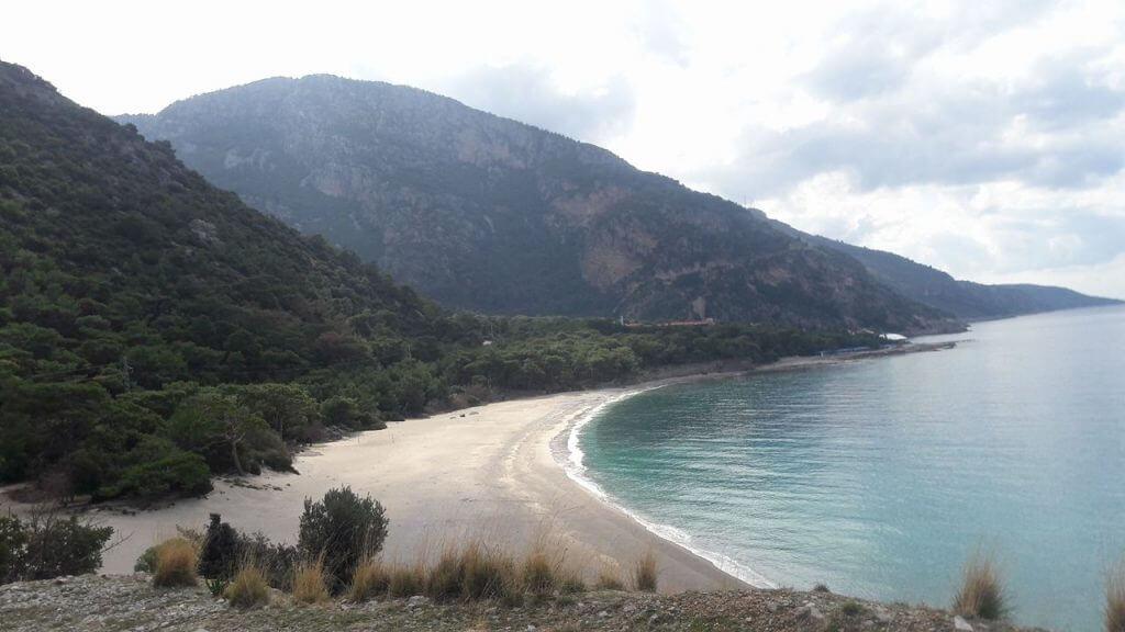 Beach near Oludeniz, Fethiye