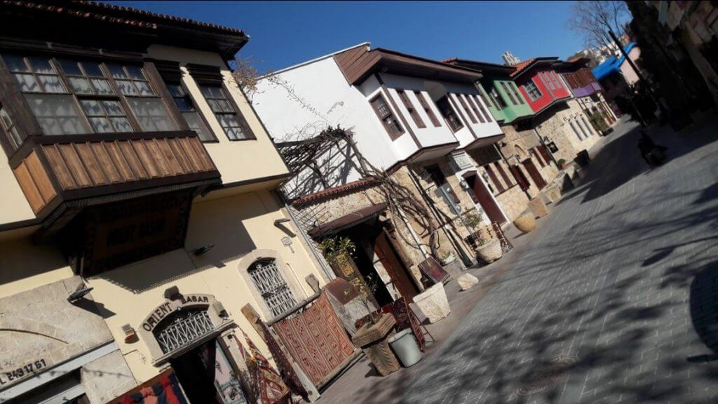 Beautiful Restored Old Houses of Kaleici