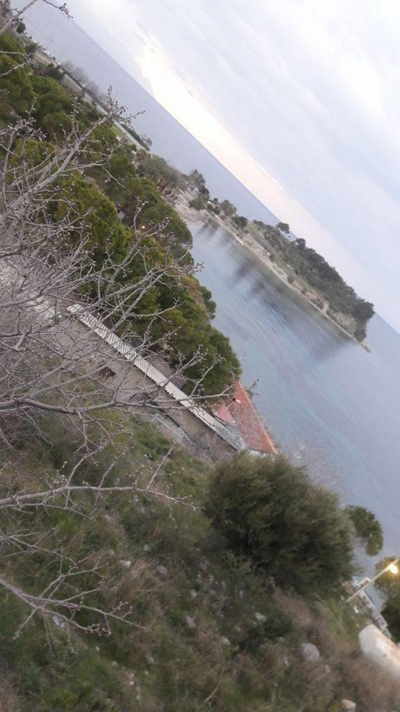 kusadasi quiet bay beautiful clear water