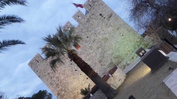 kusadasi pigeon island inner castle