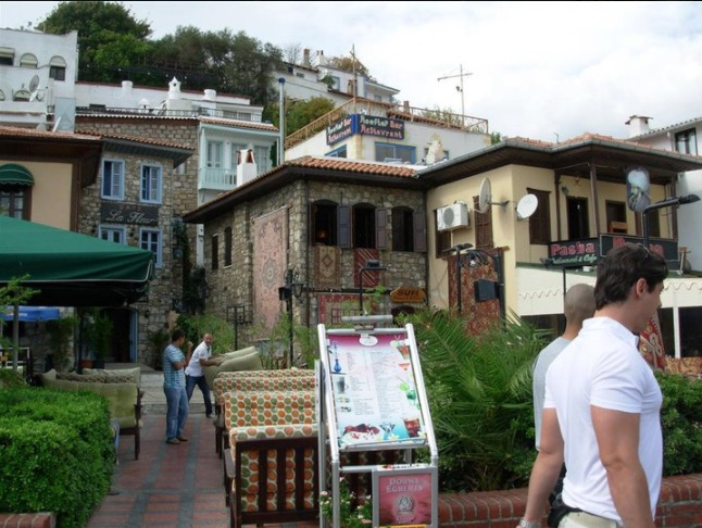Marmaris Old Town Cafes and houses