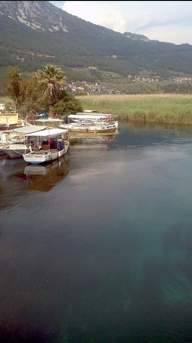 azmak river gokova akyaka bay
