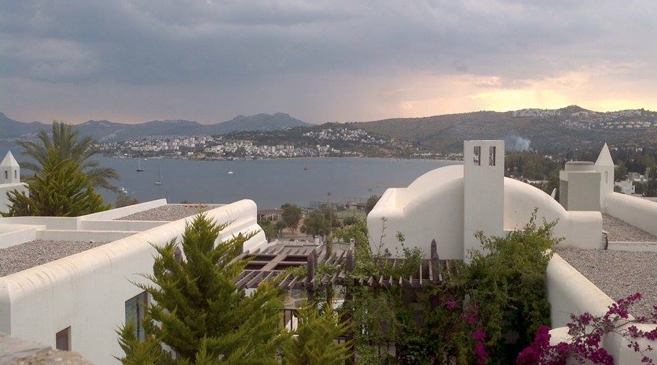 bitez bodrum view from home