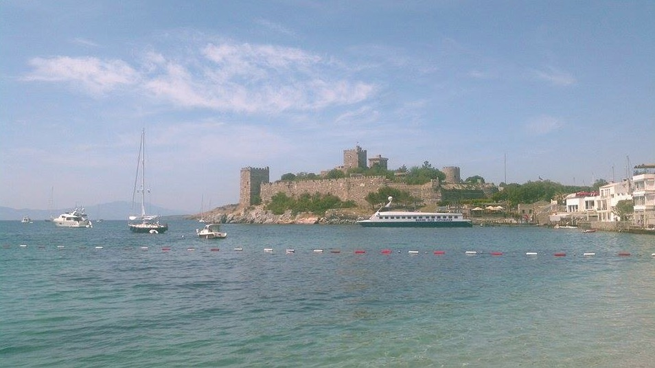 bodrum magnificent castle peninsula