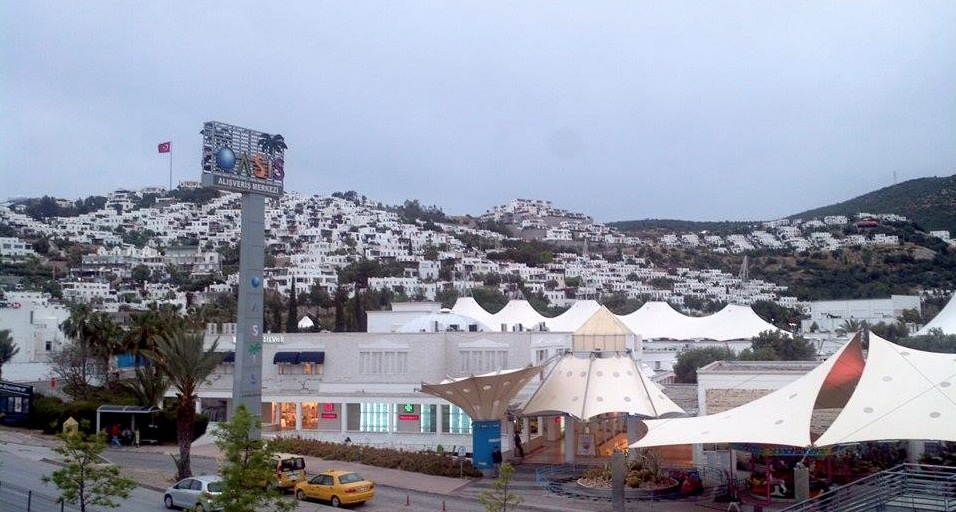 bodrum oasis shopping mall