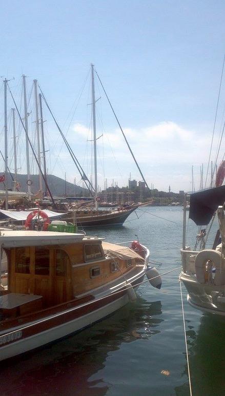 bodrum turkey gulets yachts marina