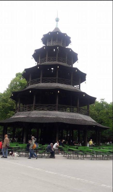 china tower english gardens munich