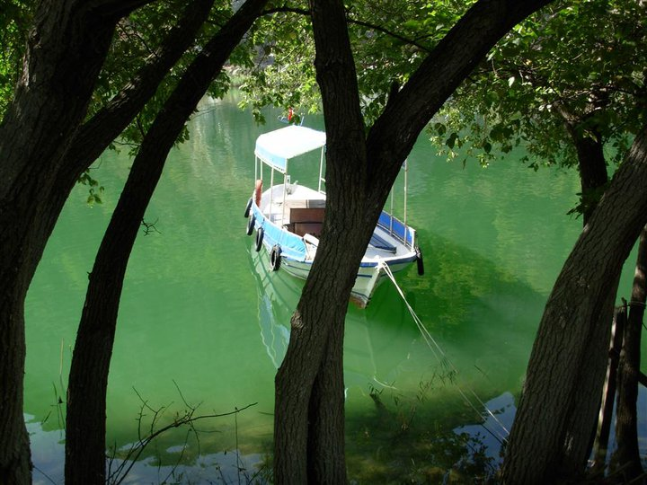 cute boat on dalyan river
