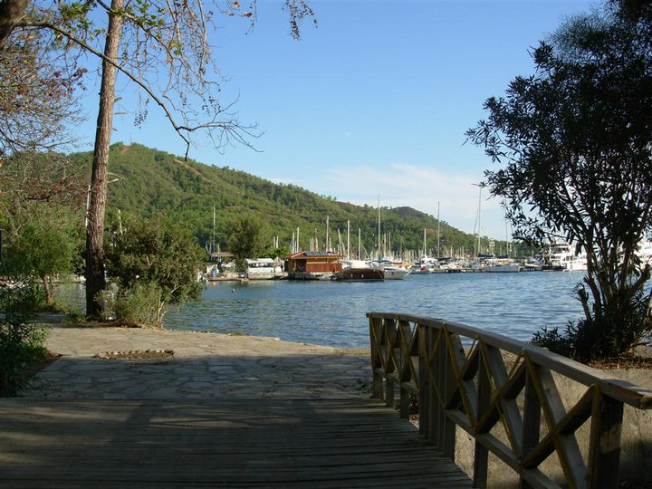 gocek marina yacht pines