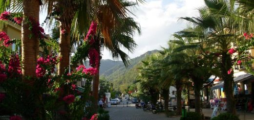 dalyan southwest turkey town center