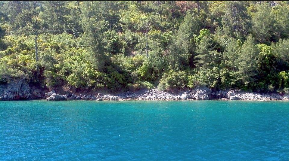 gokova bay tekne boat clear sea