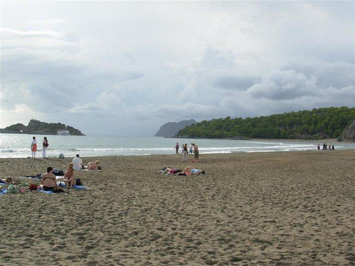 iztuzu beach relaxing day