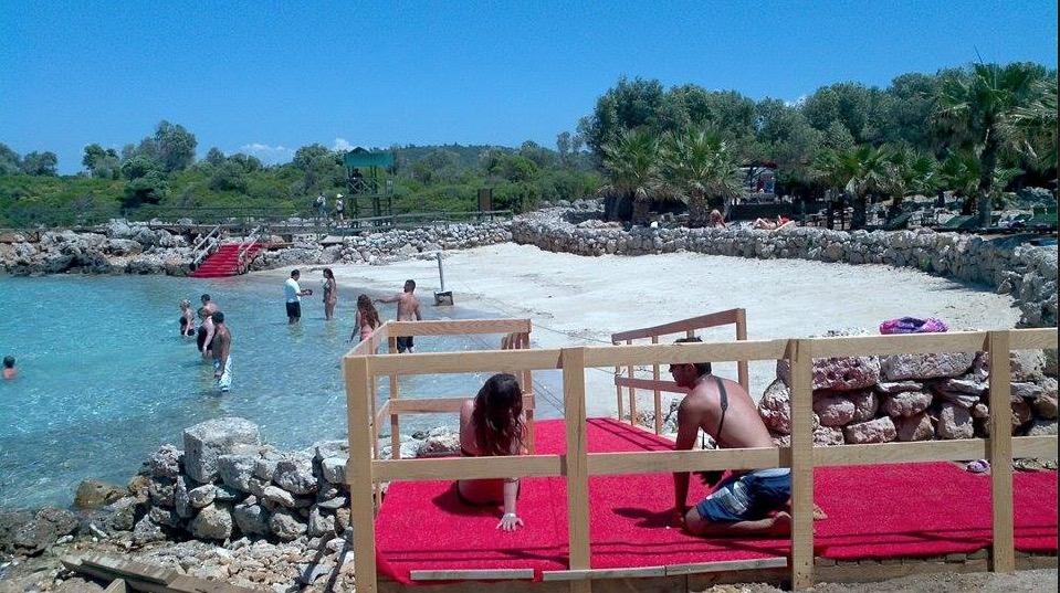 cleopatra plaj goruntuleri island paradise