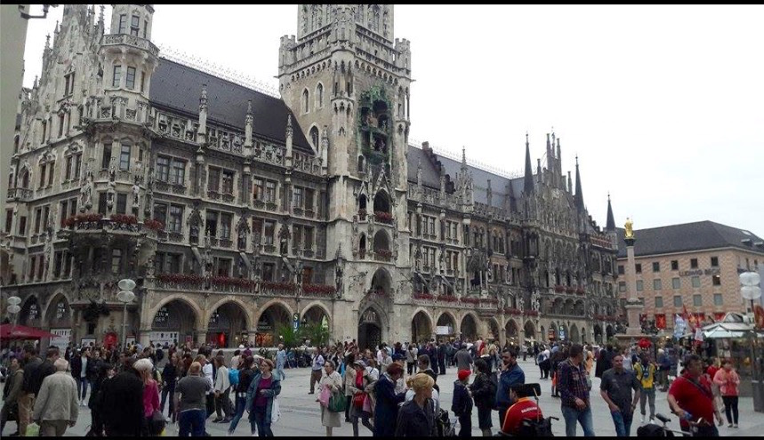 munich the new town hall