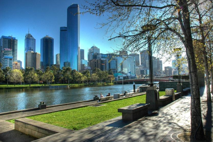 yarra banks melbourne australia