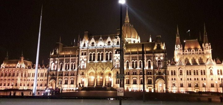 Hungarian Parliament Building Gothic Revival Style