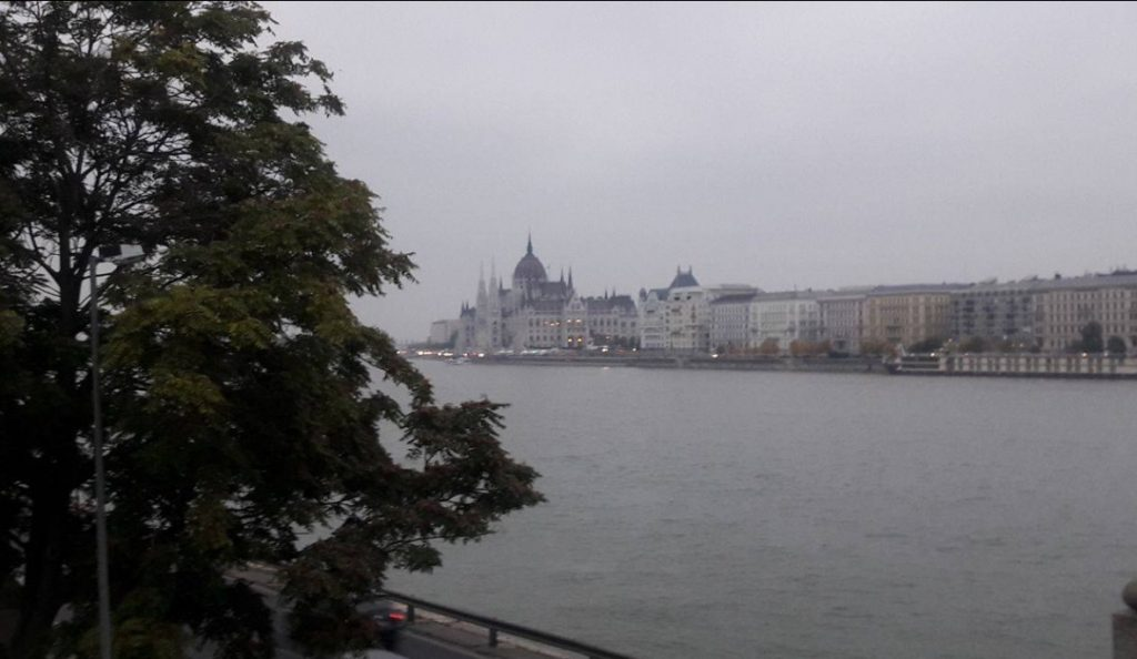 Hungarian Parliament House on Danube