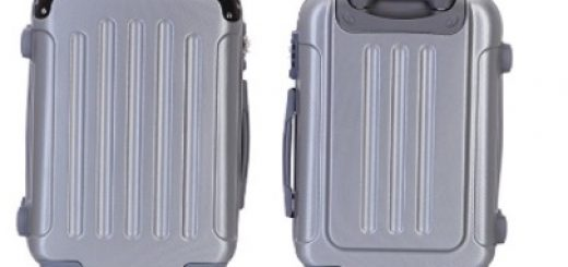 eric yian 3-piece luggage set