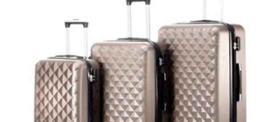 timmari hardshell expandable suitcase set