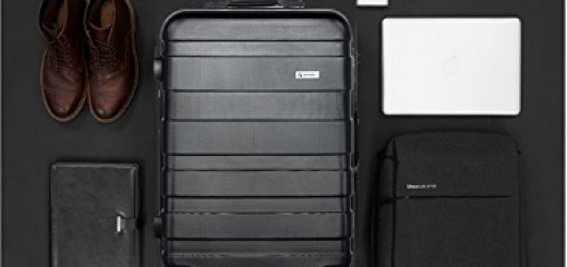 lemoone 3-piece luggage set