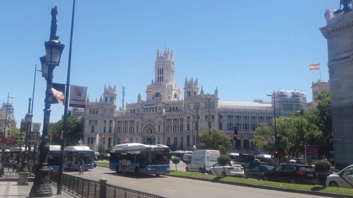 Plaza de Cibeles Madrid Spain