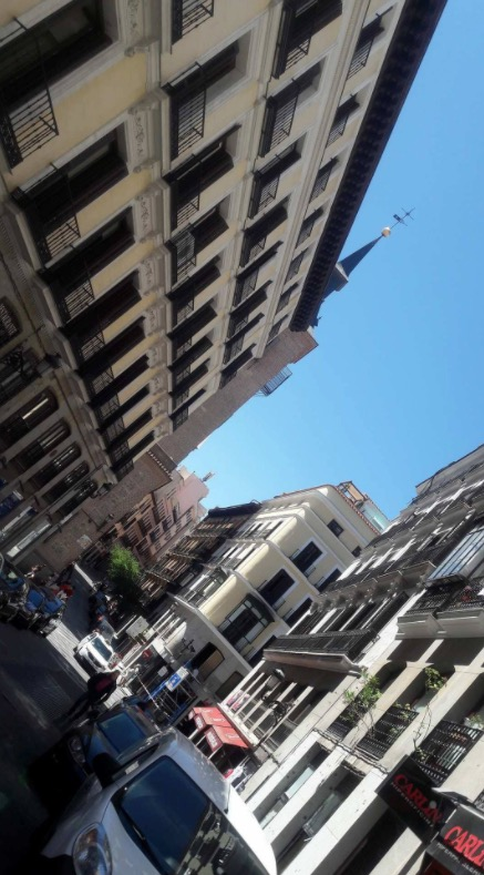 madrid chueca alleys ara sokaklar ispanyol mimarisi