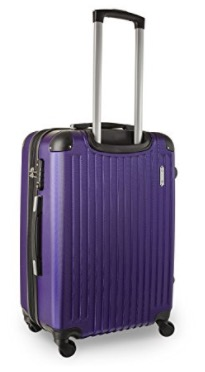 purple travelcross columbia 3-piece luggage