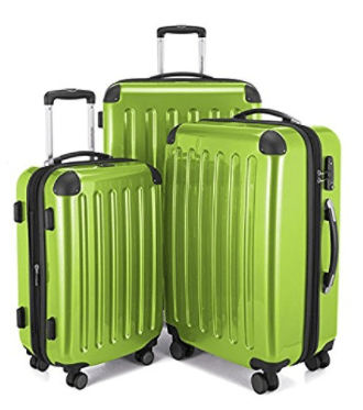 HAUPTSTADTKOFFER Alex Series Glossy Suitcase Set