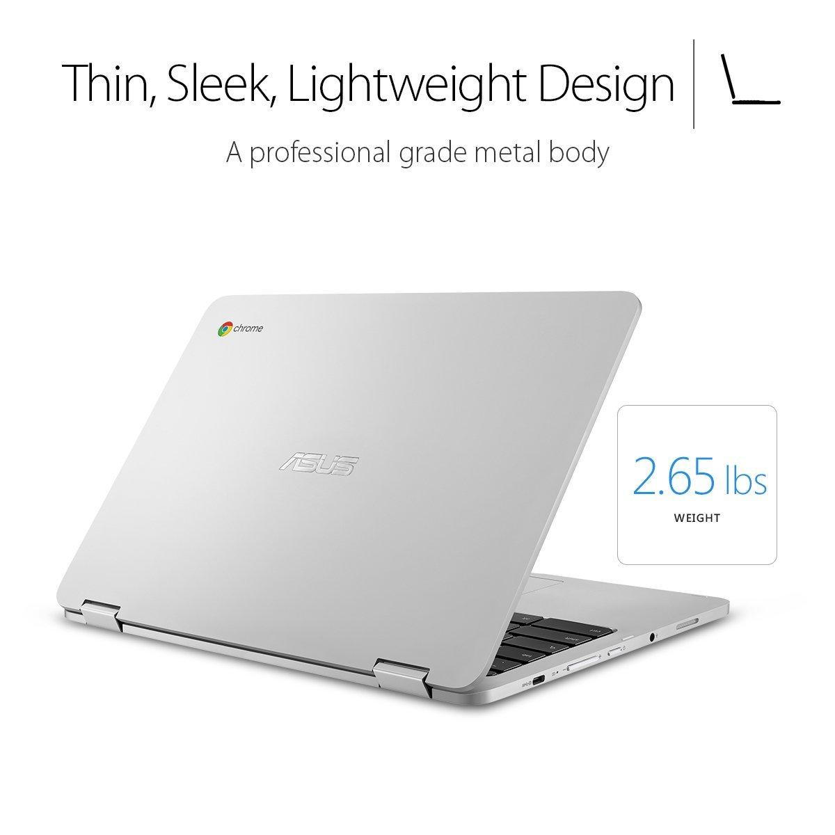 ASUS Chromebook Flip C302CA-DH54 12.5 touchscreen