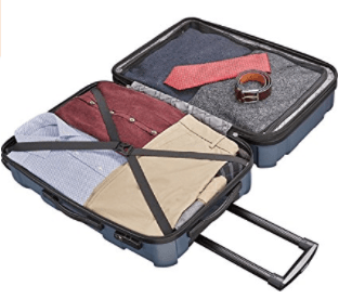 Samsonite Centric Luggage Interior