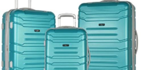 olympia 3-piece monarch luggage set