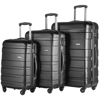 Merax Afuture 3 Piece Luggage Set