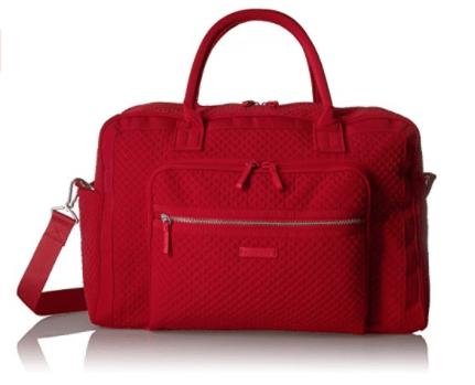 Vera Bradley Women's Iconic Weekender Travel Bag Vera