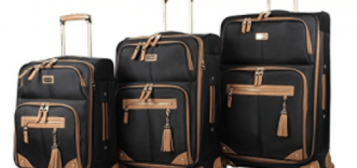 Steve Madden Luggage 3 Piece Softside Spinner