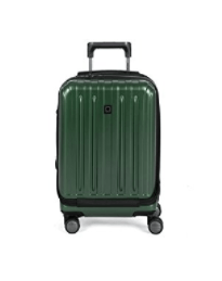 "Delsey Helium Titanium 19"" International Carry-On Expandable Spinner Luggage"