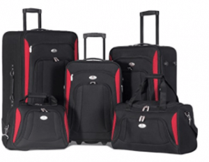 Merax Deluxe 5-piece Luggage Set