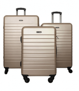 HyBrid Travel 3 Piece Suitcase Set