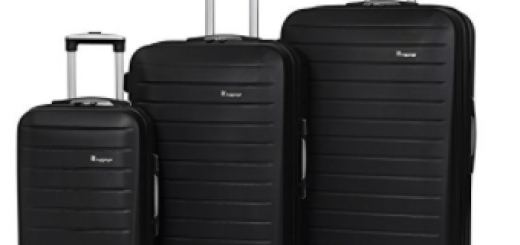 IT Luggage Legion 3-Piece 8-Wheel Hardside Expandable