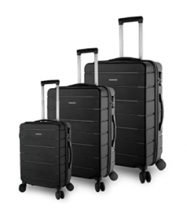 TravelCross Vermont 3-Piece Ultra-Resistant Lightweight Spinner Luggage Set