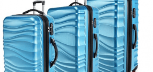 YUTING Spinner Luggage 3 Piece Set