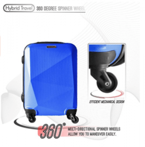 HyBrid Travel 3 Piece Luggage Set