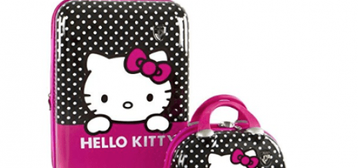 Heys America Hello Kitty Spinner and Beauty Case