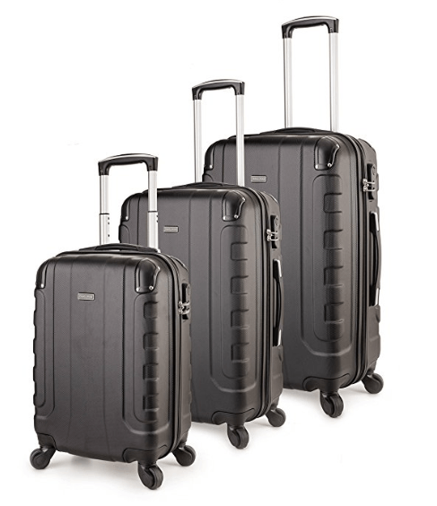 bfa0c36da TravelCross Chicago is a solid luggage set of three light yet robust 20, 25  and 29.5-inch suitcases with 360-degree rotating spinner wheels.