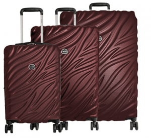 Delsey Paris Luggage Alexis 3-Piece Spinner Hardside Luggage Set