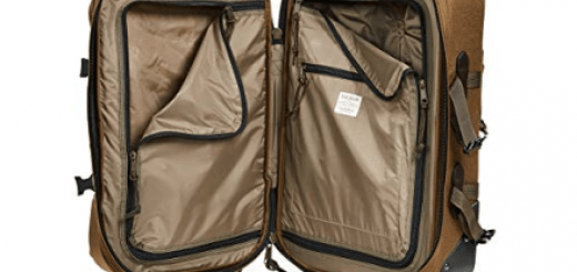 Filson Men's Dryden 2 Wheel Carry On Suitcase