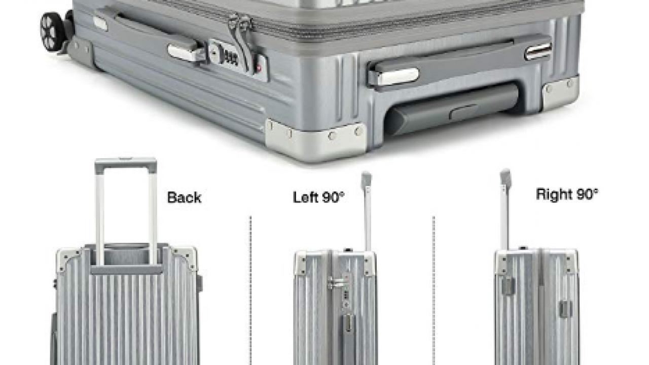 fe4c463c02da Kroeus ABS PC Spinner Suitcase with TSA Lock, 20