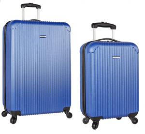"Travel Gear 19"" and 28"" Hardside Spinner Luggage Set"