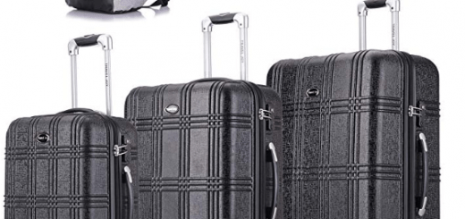 d1857c95e050 VonHaus Premium 3 Piece Lightweight Luggage Set Review - Cold Turkey Now